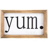 Yum Wood Wall Decor